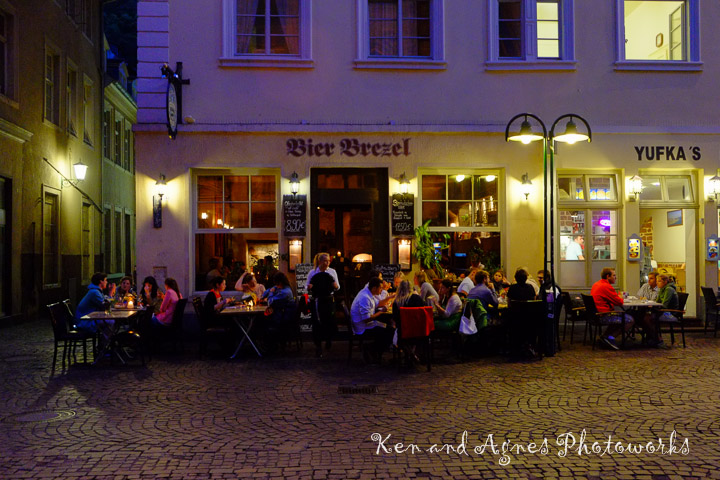 Dinner at Bier Brezel
