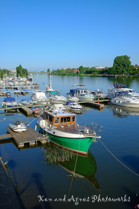 Boats on Nacker River