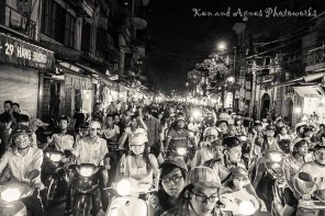 Bikes Is The Most Popular Mode Of Transport To Beat The Hanoi Jams