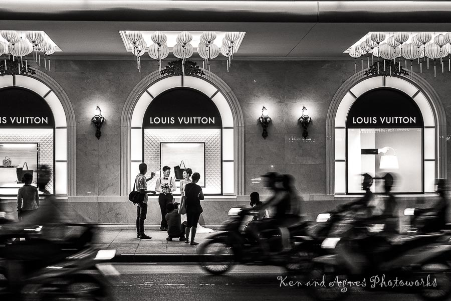 Wedding Photo Shoot Trang Tien Plaza 1