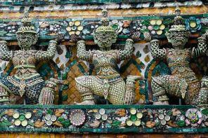 Row of Yaksha Statues