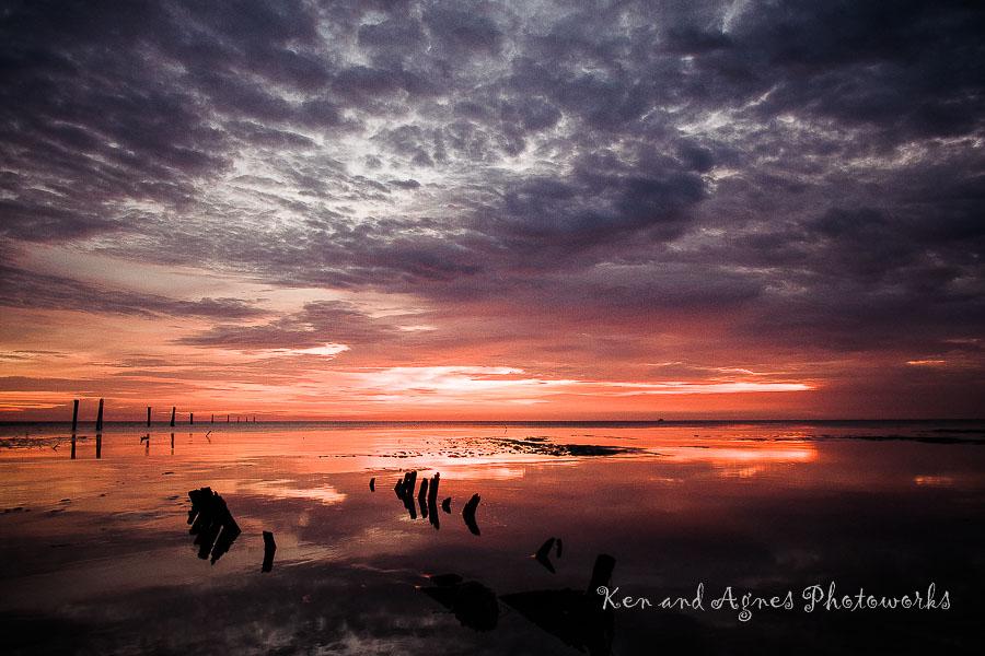 Sunset At Redang Beach -  Twilight Approaching